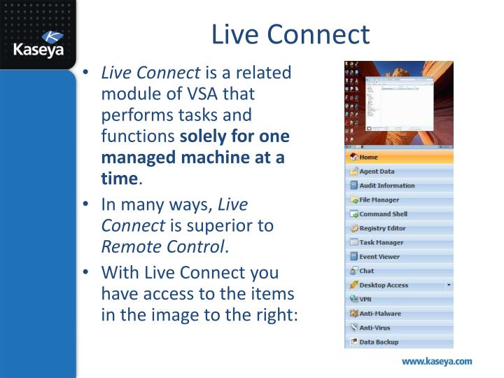 Live Connect