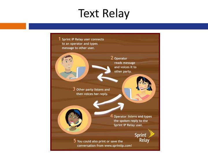 Text Relay