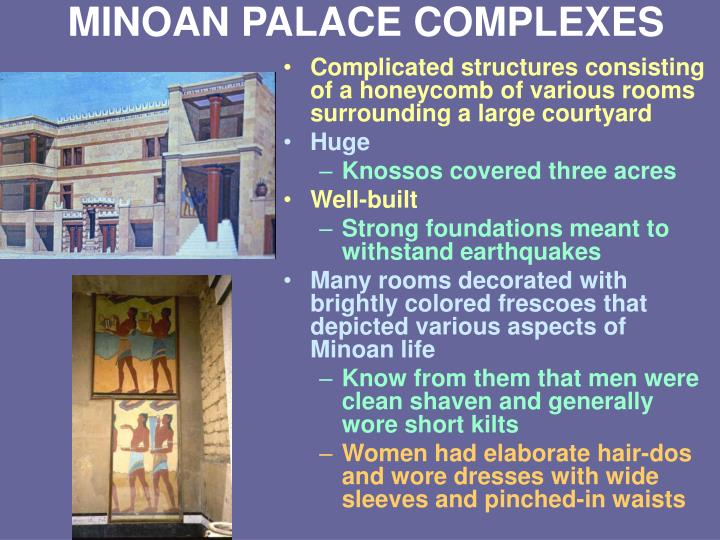 MINOAN PALACE COMPLEXES