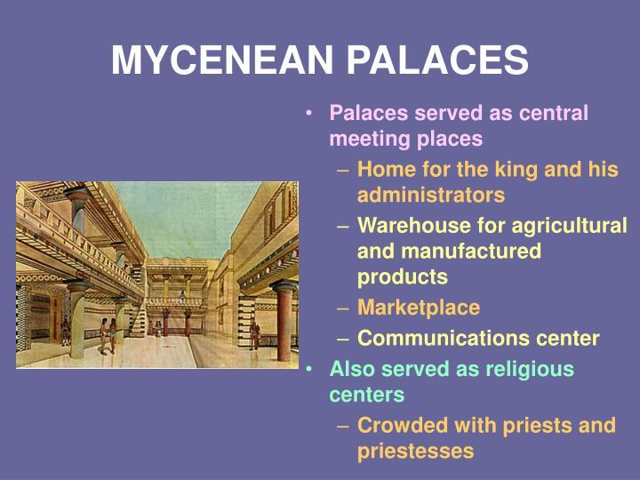 MYCENEAN PALACES