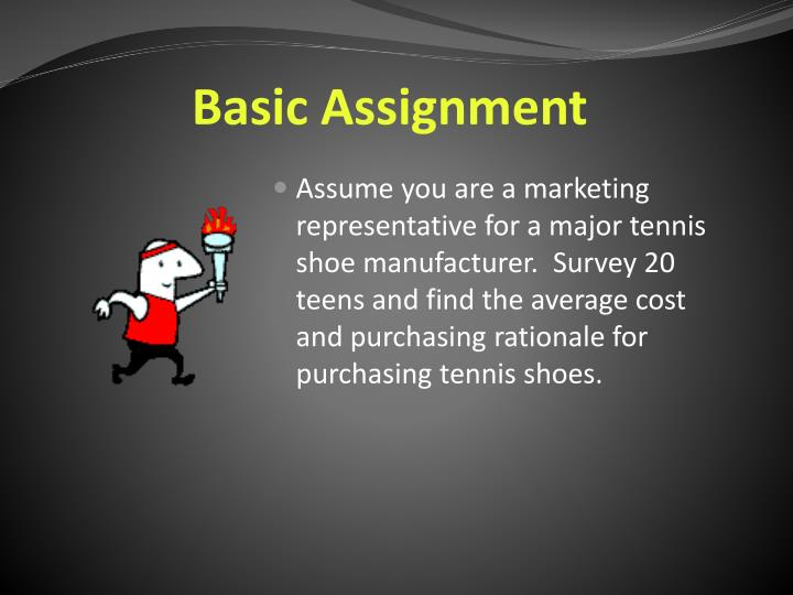 Basic Assignment