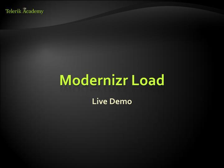 Modernizr Load