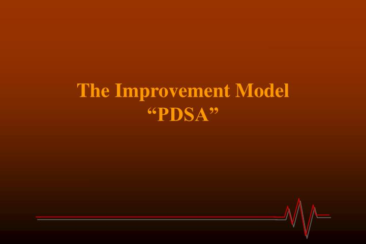 The Improvement Model
