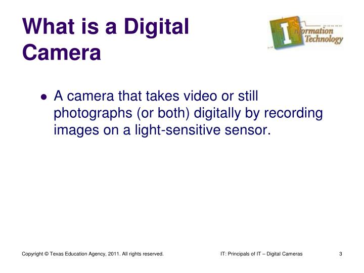 What is a digital camera