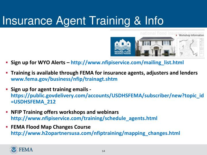 Insurance Agent Training & Info