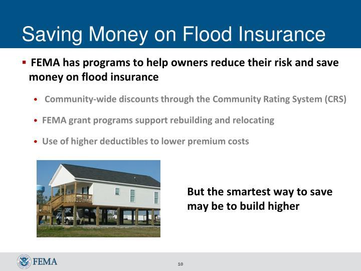 Saving Money on Flood Insurance