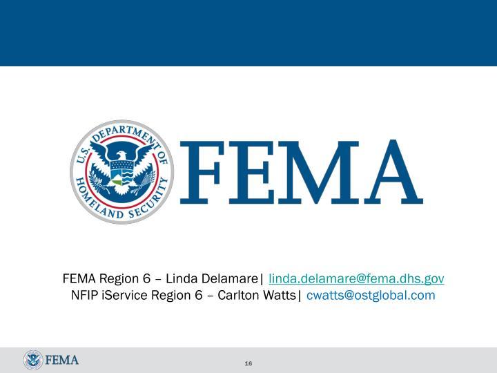 FEMA Region 6 – Linda Delamare|
