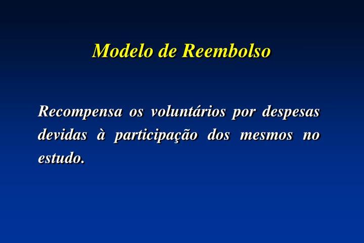 Modelo de Reembolso