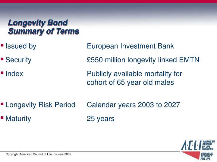 Longevity Bond