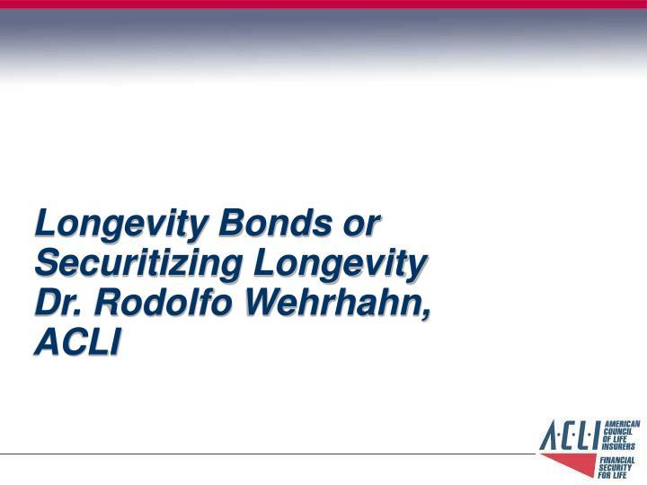 Longevity Bonds or