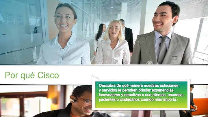 Por qué Cisco
