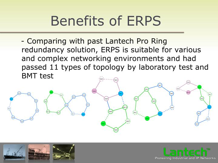 Benefits of ERPS