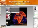 project management requiers talk talk talk