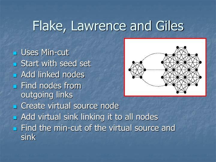 Flake, Lawrence and Giles