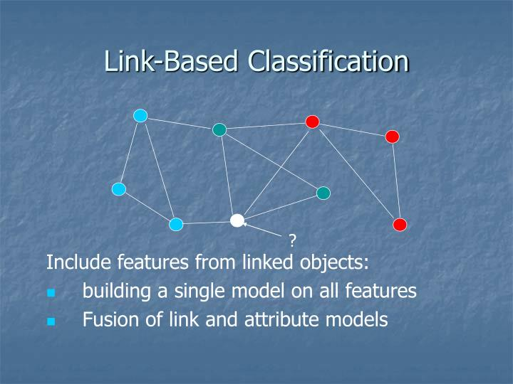 Include features from linked objects:
