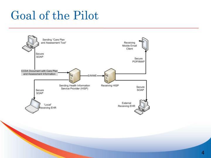 Goal of the Pilot