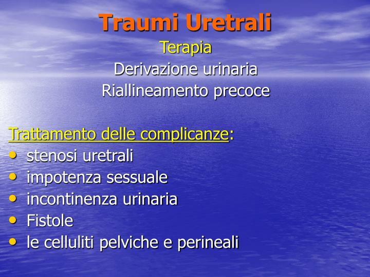 Traumi Uretrali