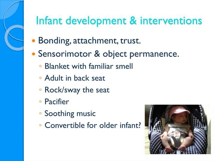 Infant development & interventions