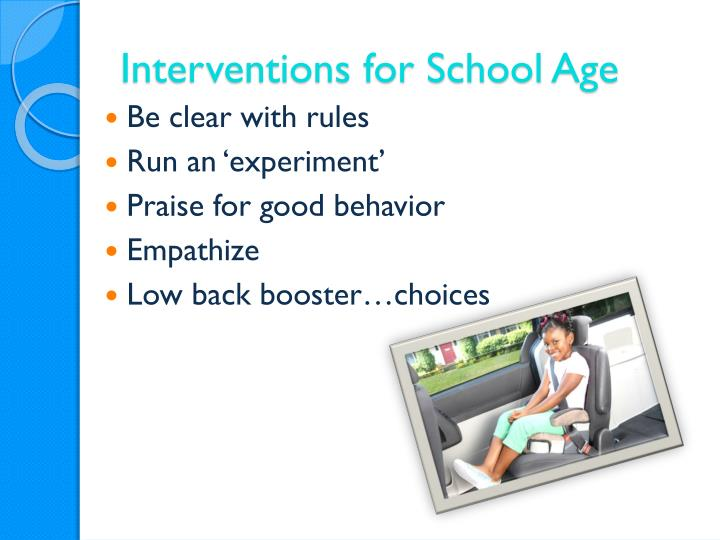 Interventions for School