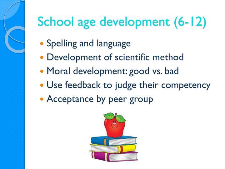 School age development (6-12)