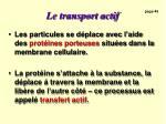 le transport actif2
