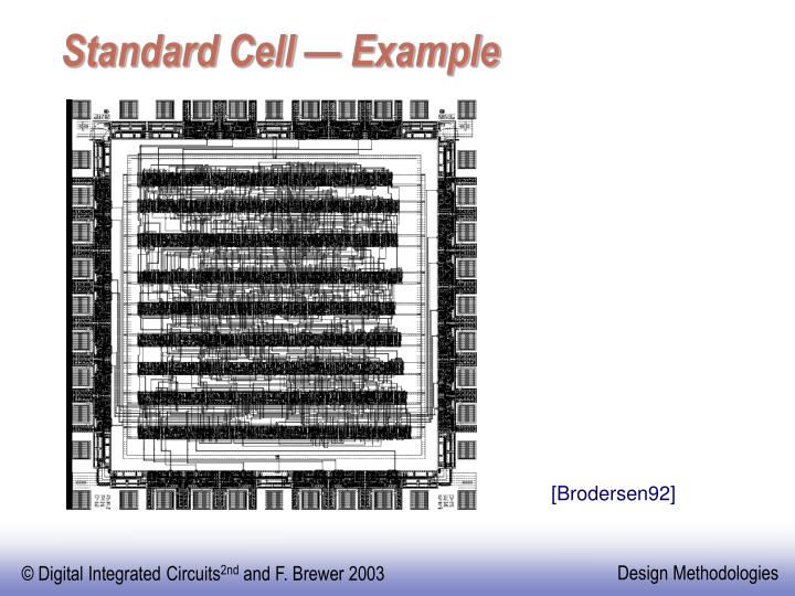 Standard Cell — Example