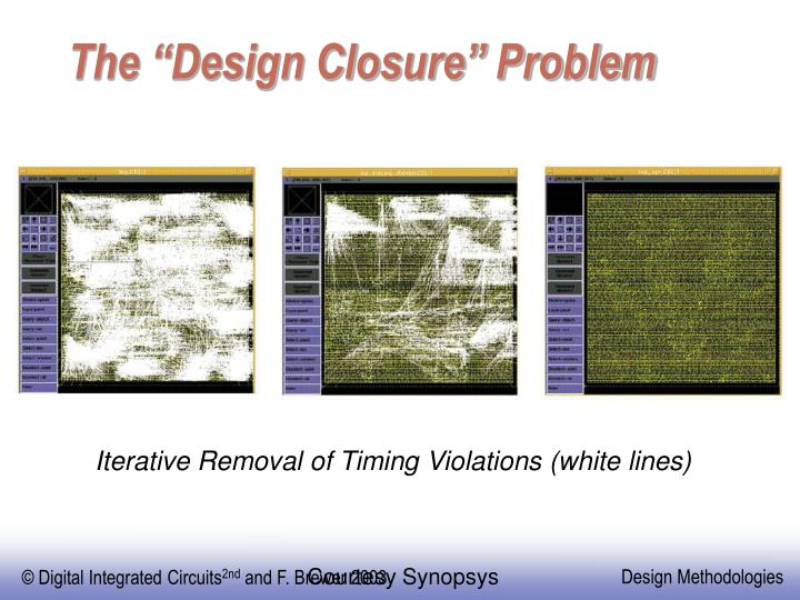 """The """"Design Closure"""" Problem"""