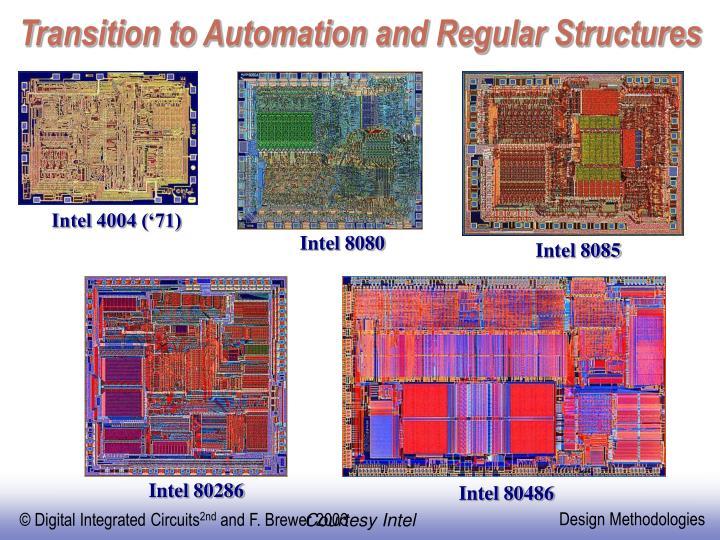 Intel 4004 ('71)
