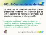 sgsi 9 gestion de incidentes