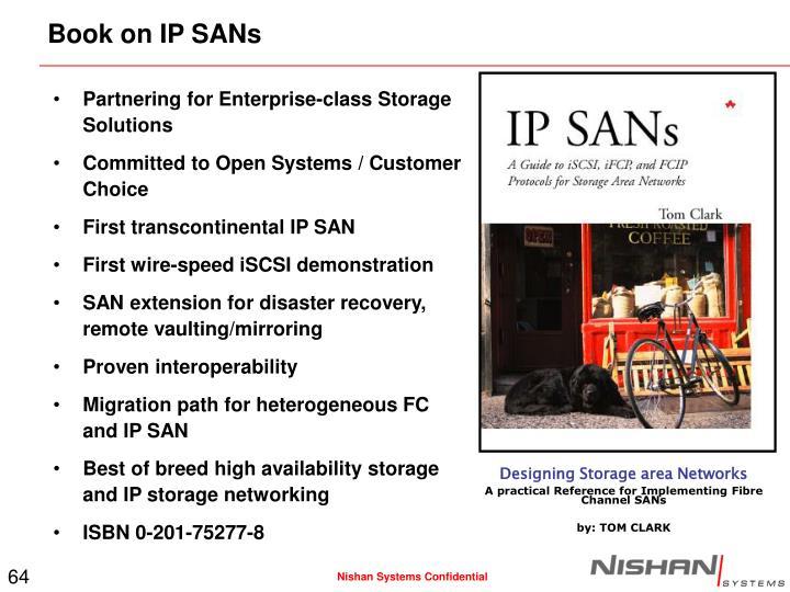 Partnering for Enterprise-class Storage Solutions