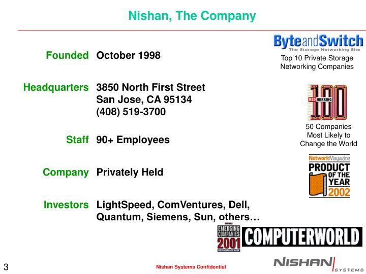 Nishan the company