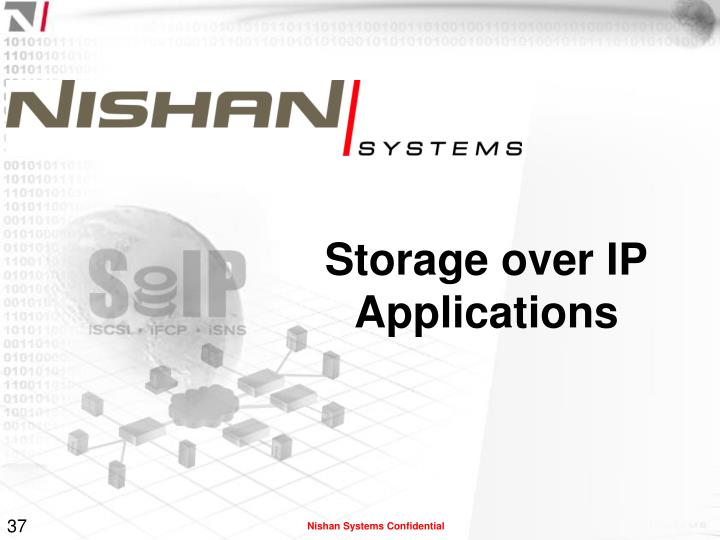 Storage over IP