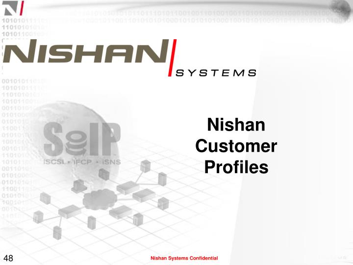 Nishan Customer Profiles