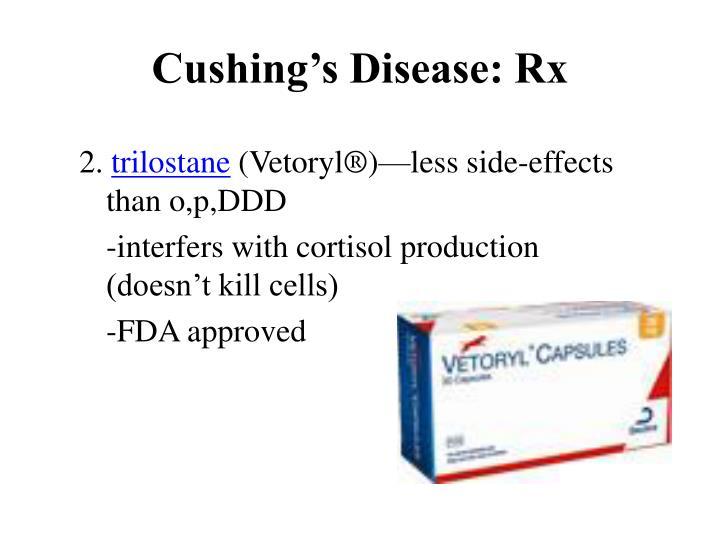 Cushing's Disease: Rx