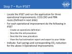 step 7 run ifset