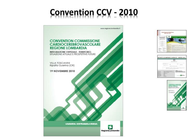 Convention CCV - 2010