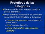 prototipos de las categor as5