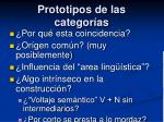 prototipos de las categor as7