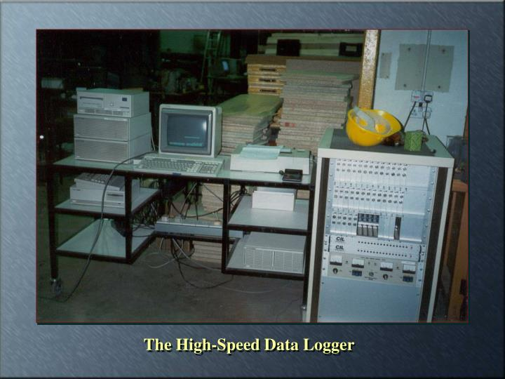 The High-Speed Data Logger