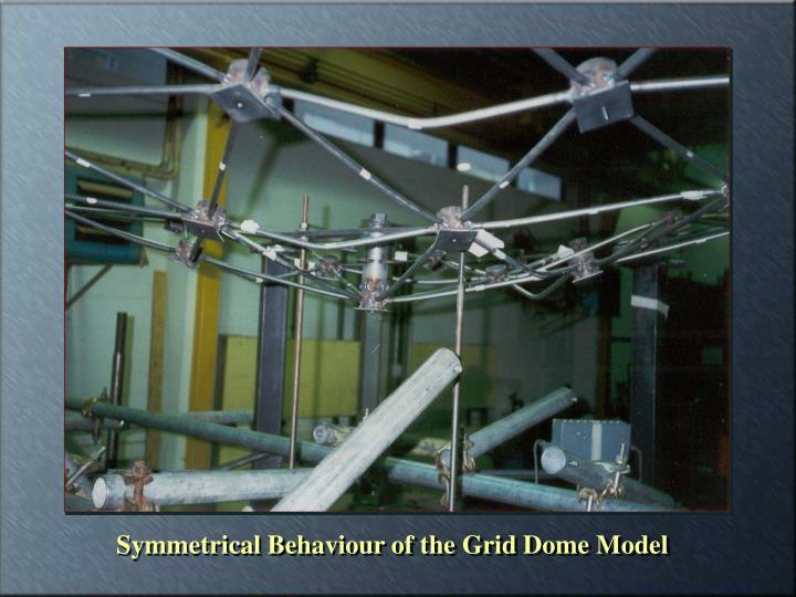 Symmetrical Behaviour of the Grid Dome Model