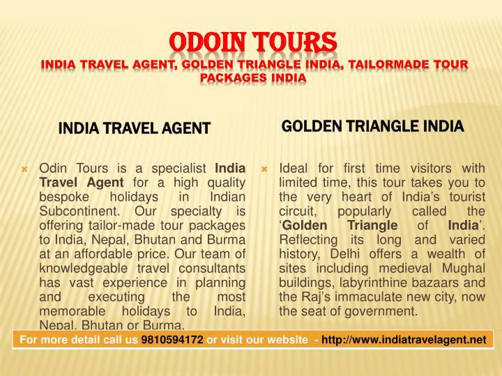 India Travel Agent