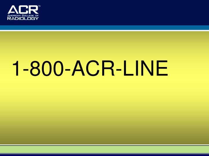 1-800-ACR-LINE