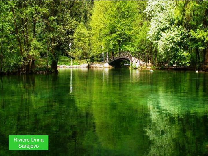 Rivière Drina       Sarajevo