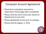 computer account agreement1