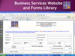 business services website and forms library1