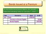 bonds issued at a premium2