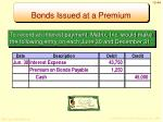 bonds issued at a premium5
