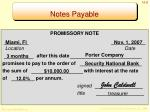 notes payable1