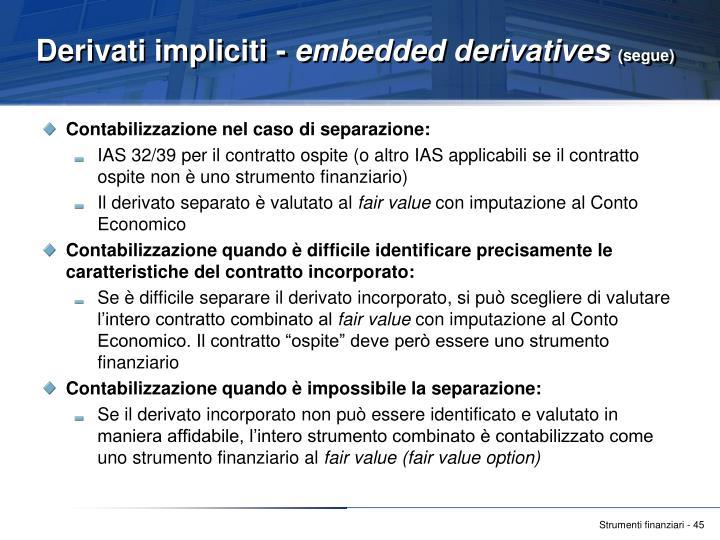Derivati impliciti -