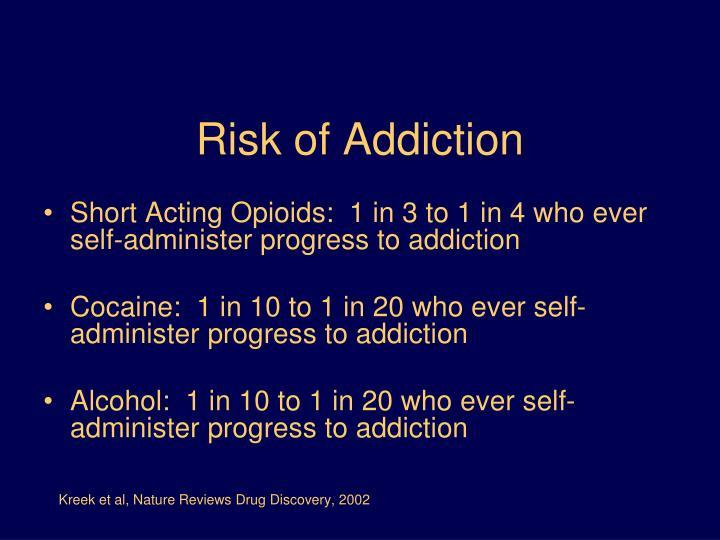 Risk of Addiction